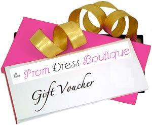 Prom Dress Boutique Gift Certificates